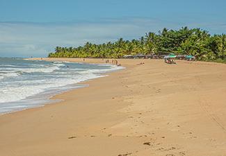 Praia de Guaiú - Saída de Trancoso