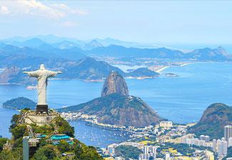 Um dia no Rio com ingressos Pão de Açúcar, Corcovado (subida de trem) e almoço com sobremesa