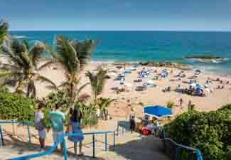 Praia da Barra e Rio Vermelho